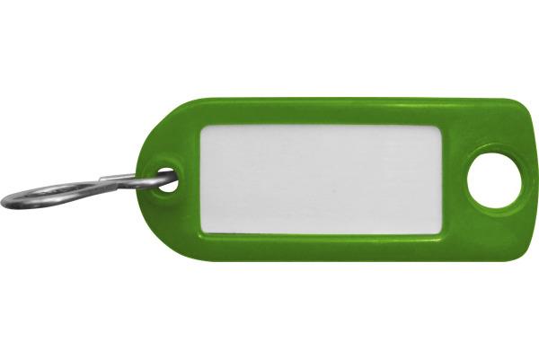 RIEFFEL Schlüssel-Anhänger 8034FS GR grün 100 Stück