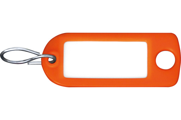 RIEFFEL Schlüssel-Anhänger 8034FS OR orange 100 Stück