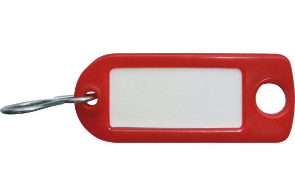RIEFFEL Schlüssel-Anhänger 8034FS RO rot 100 Stück