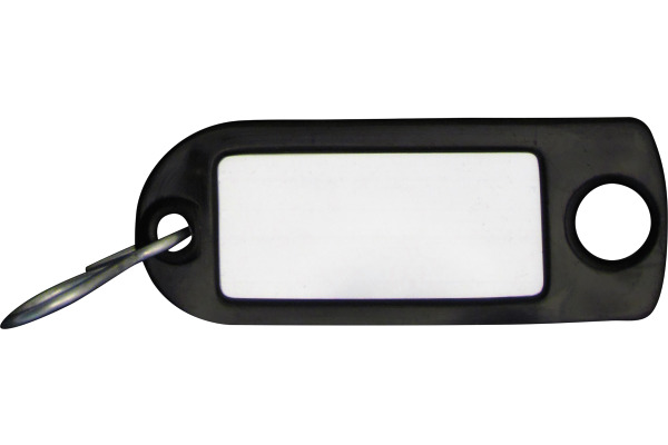 RIEFFEL Schlüssel-Anhänger 8034FS SC schwarz 100 Stück