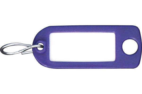 RIEFFEL Schlüssel-Anhänger 8034FS VI violet 100 Stück