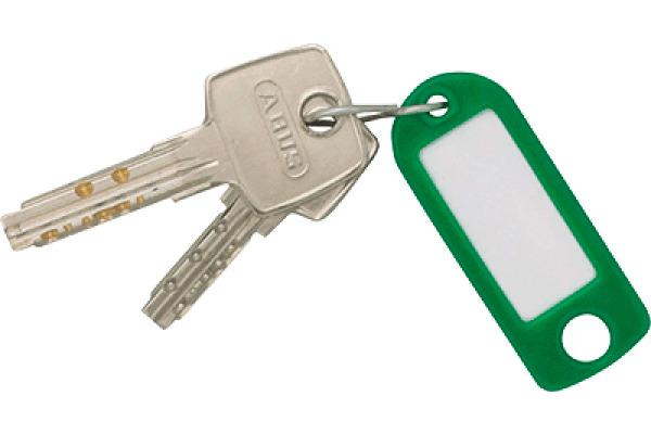 RIEFFEL Schlüssel-Anhänger 8034SB 10 AS assortiert 10 Stück