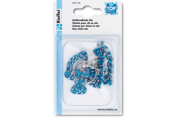 RIEFFEL Schlüssel-Ketten 8070SB assortiert 47cm