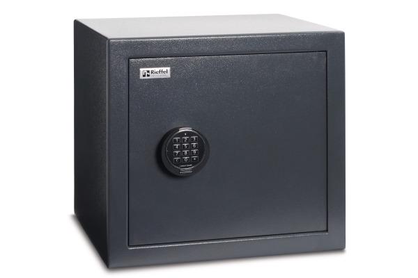 RIEFFEL Tresor EcoSafe 45x48x41cm ECOSAFE45 Stahl, Elektronischem Schloss