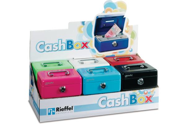 RIEFFEL Geldkassette KIKA KIKASTV12 12,5x9,5x6cm farbig ass.