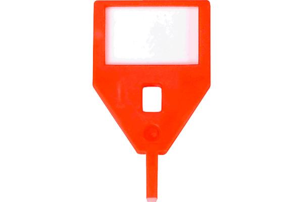 RIEFFEL Schlüssel-Anhänger KyStor KR-A ORAN orange