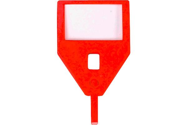 RIEFFEL Schlüssel-Anhänger KyStor KR-A ROT/ rot