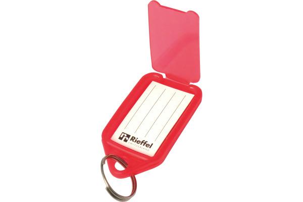 RIEFFEL Schlüsseletiketten 38x22mm KT1000SB 10 assortiert 10 Stück