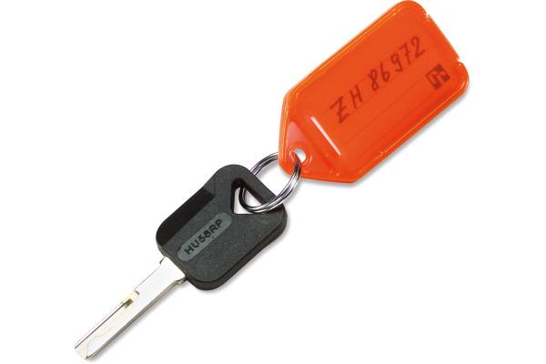 RIEFFEL Schlüsselschilder KT1050SB 2 A 53x31mm 2 Stück