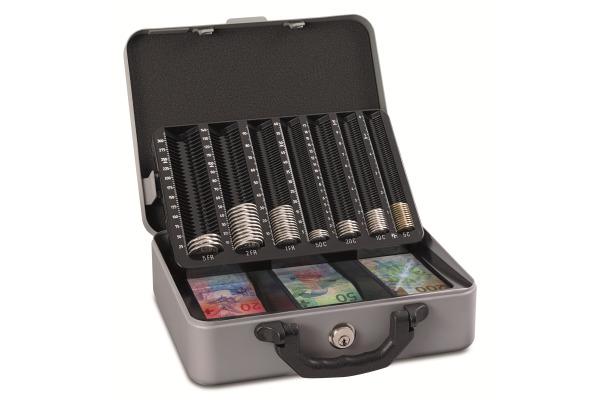RIEFFEL Geldkassette MONETADEL 30x24,2x10,2cm CHF
