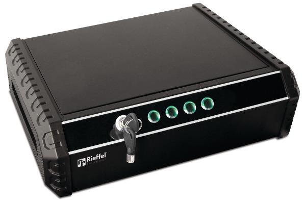RIEFFEL Tresor MiniSafe 370x275x100mm MINISAFE mit Elektronischem Schloss