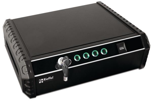 RIEFFEL Tresor MiniSafe 370x275x100mm MINISAFE Elekt. Schloss & Fingerprint