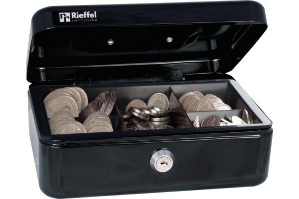RIEFFEL Geldkassette Valorit VTGK2SCHW 7,7x20,7x15,7cm schwarz