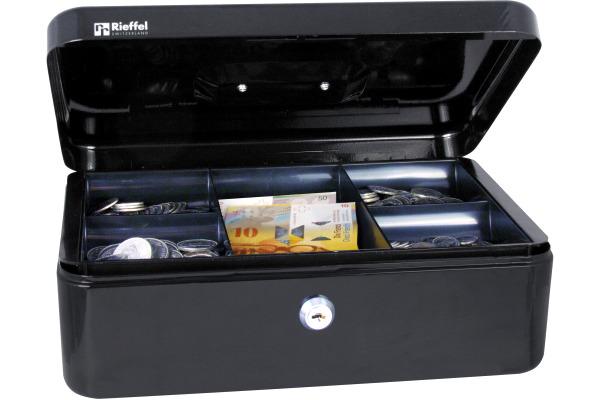 RIEFFEL Geldkassette Valorit VTGK4SCHW 10x30x21,7cm schwarz