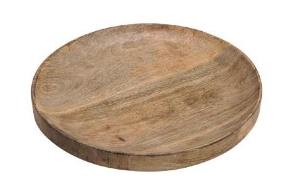 ROOST Dekoschale Mango 30cm 10781 braun rund