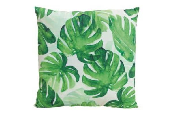 ROOST Kissen Tropical 45x8x45cm 10011167 grün