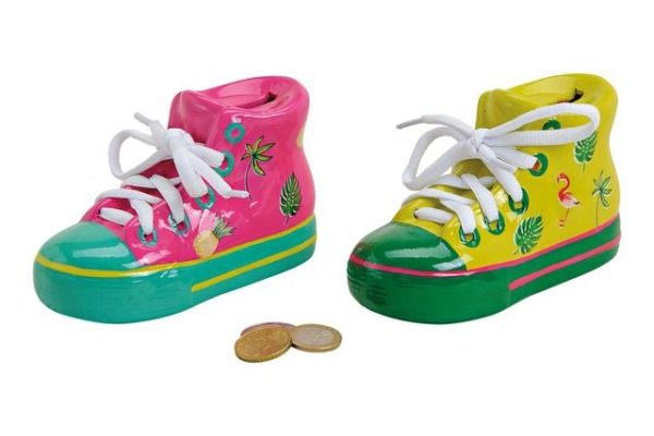 ROOST Sparkasse Schuhe Flamingo 16561 farbig 14x9x6cm
