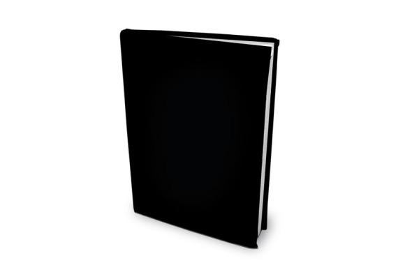 ROOST Buchhülle A5 4343609 Black