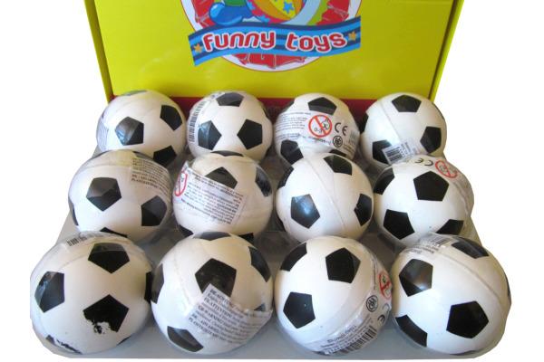 ROOST Trickball Fussball 45252 weiss/schwarz, 4.5x4.5x4.5cm