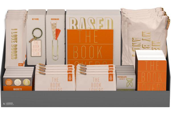 ROOST Geschenk Display I love books 495082 befüllt