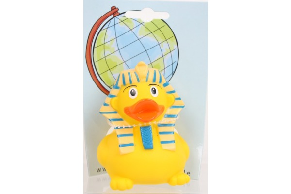 ROOST Ente sphinx 59202 gelb, 8cm