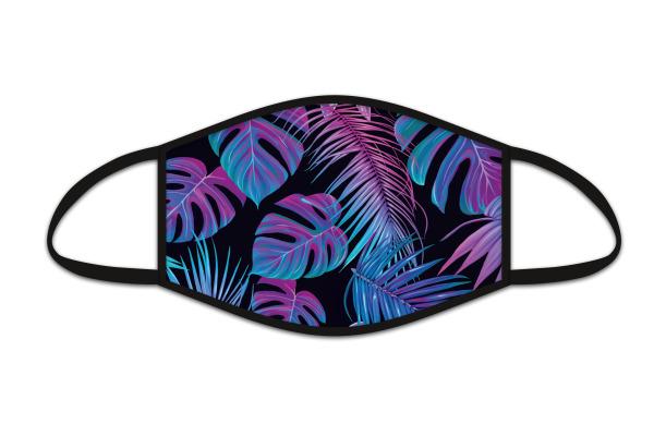 ROOST Mund-Nasen-Maske 9712 Dschungel neon