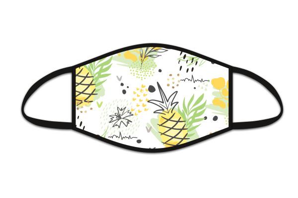 ROOST Mund-Nasen-Maske 9714 Ananas