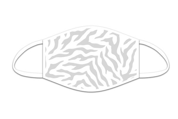 ROOST Mund-Nasen-Maske 9749 Tiger Weiss