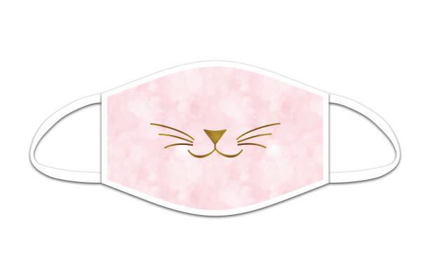 ROOST Mund-Nasen-Maske 9768 Katzenschnäuzchen