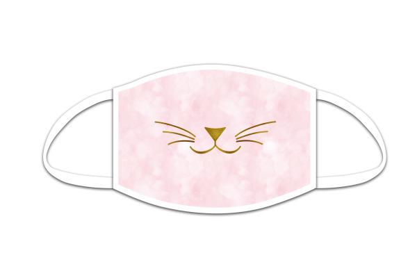 ROOST Mund-Nasen-Maske Kids 9778 Kätzschenschnauze