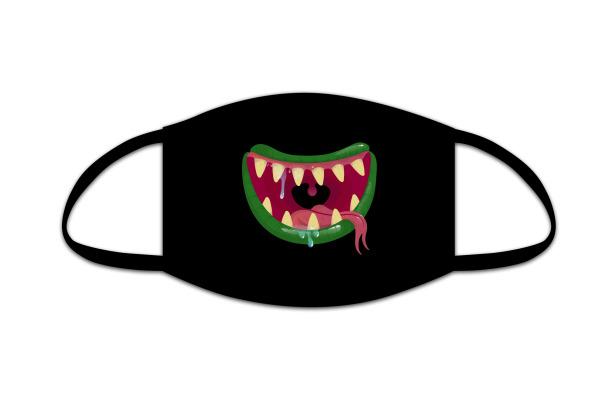 ROOST Mund-Nasen-Maske Kids 9781 Monstersmile