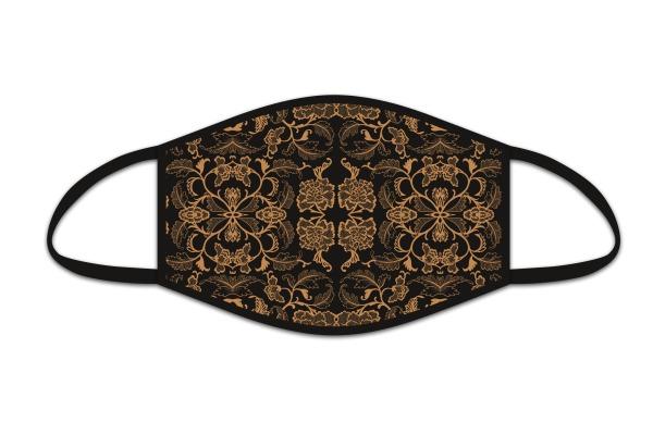 ROOST Mund-NasenMaske 9833 Ornament