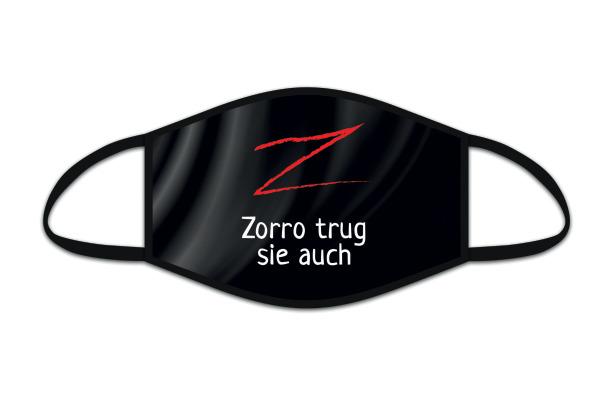 ROOST Mund-Nasen-Maske 9852 Zorro trug sie auch.