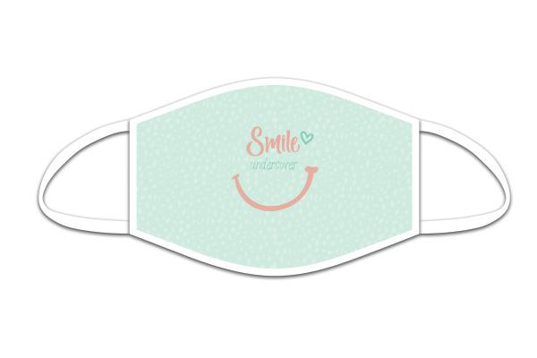 ROOST Mund-Nasen-Maske 9856 Smile undercover