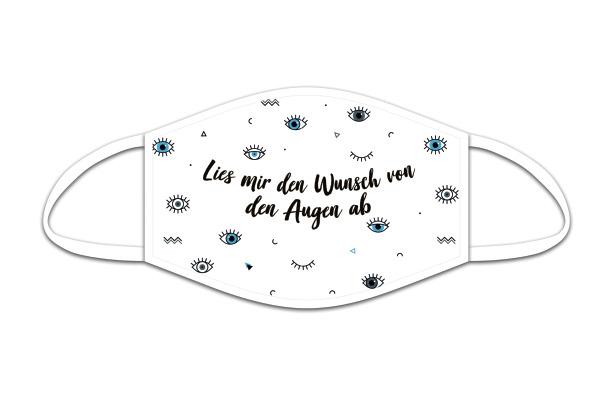 ROOST Mund-Nasen-Maske 9858 Lies mir den Wunsch