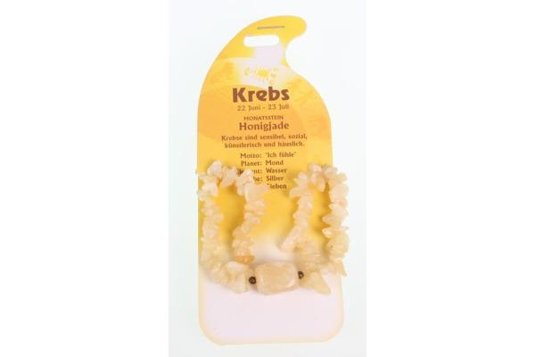 ROOST Armband Krebs G240 Honigjade