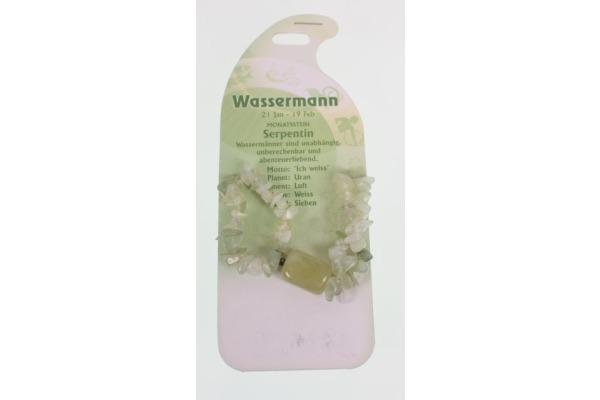 ROOST Armband Wassermann G247 Serpentin