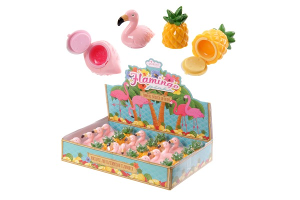 ROOST Lippenbalsam Tropisch LIP34 Ananas und Flamingo ass.