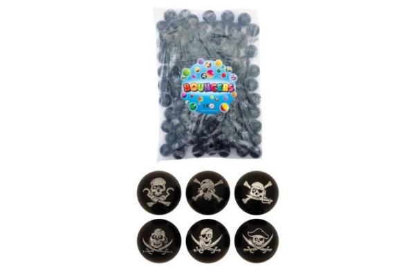 ROOST Trickball Pirat 3cm T27069 schwarz