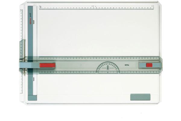 ROTRING Zeichenplatte profil A3 S0213750 mit Arrietierung