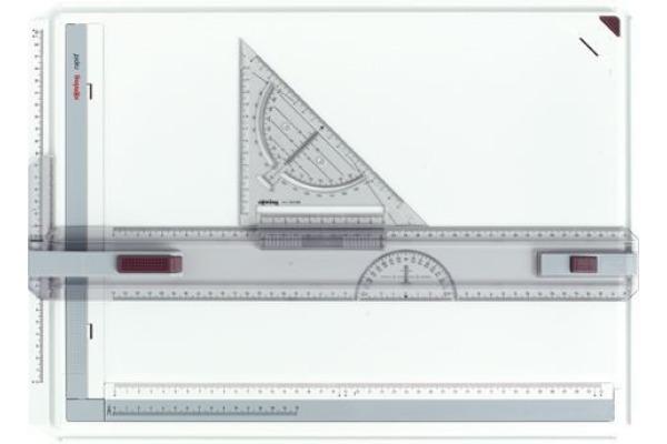 ROTRING Zeichenplatte rapid A3 S0213910 mit Arretierung