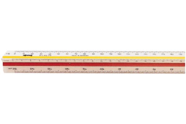 ROTRING Massstab 30cm S0220641 weiss farbig