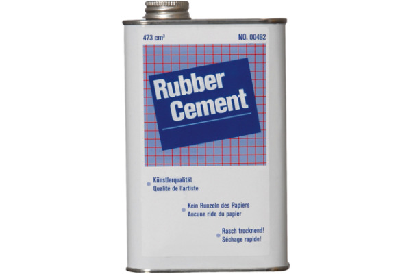 RUBBER C. Leim 166492000 transparent 473ml