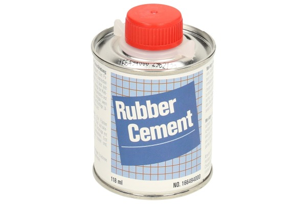 RUBBER C. Leim 166494000 transparent 118ml