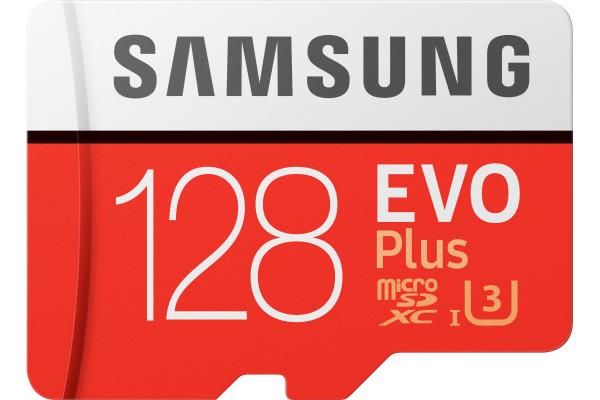 SAMSUNG Micro-SDXC Card Evo Plus 128GB MB-MC128H with Adapter Class 10 100MB/s