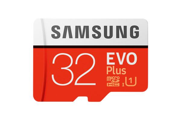 SAMSUNG Micro-SDHC Card Evo Plus 32GB MB-MC32GA with Adapter Class 10 95MB/s