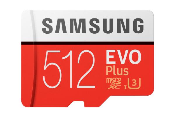 SAMSUNG Micro-SDXC Card Evo Plus 512GB MB-MC512G with Adapter Class 10 100MB/s