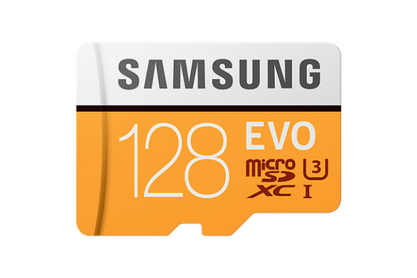 SAMSUNG Micro-SDHC Card Evo 128GB MB-MP128G with Adapter Class 10 100MB/s