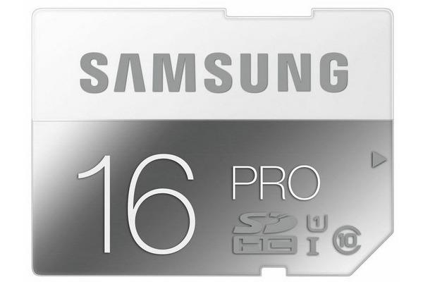 SAMSUNG SDHC-Card Pro 16GB MB-SG16D Class 10 90/50MB/s