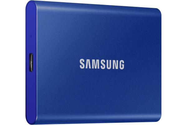 SAMSUNG SSD Portable T7 1TB MU-PC1T0H USB 3.1 Gen. 2 Indigo Blue